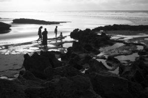 Le bain du soir -Casablanca, Casablanca-Settat, Maroc, Afrique.