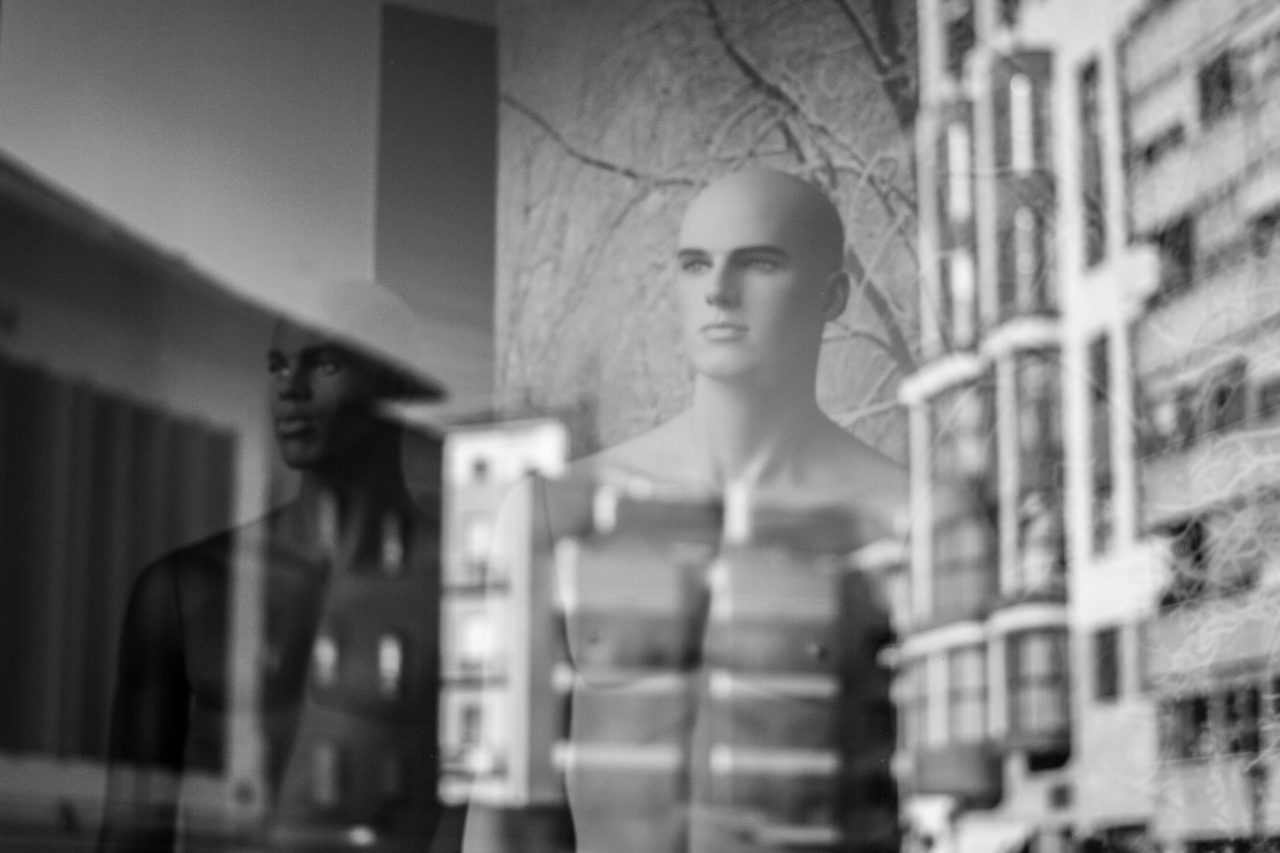Two mannequins - Valencia (Spain), Valencian Community, Spain, Europe.