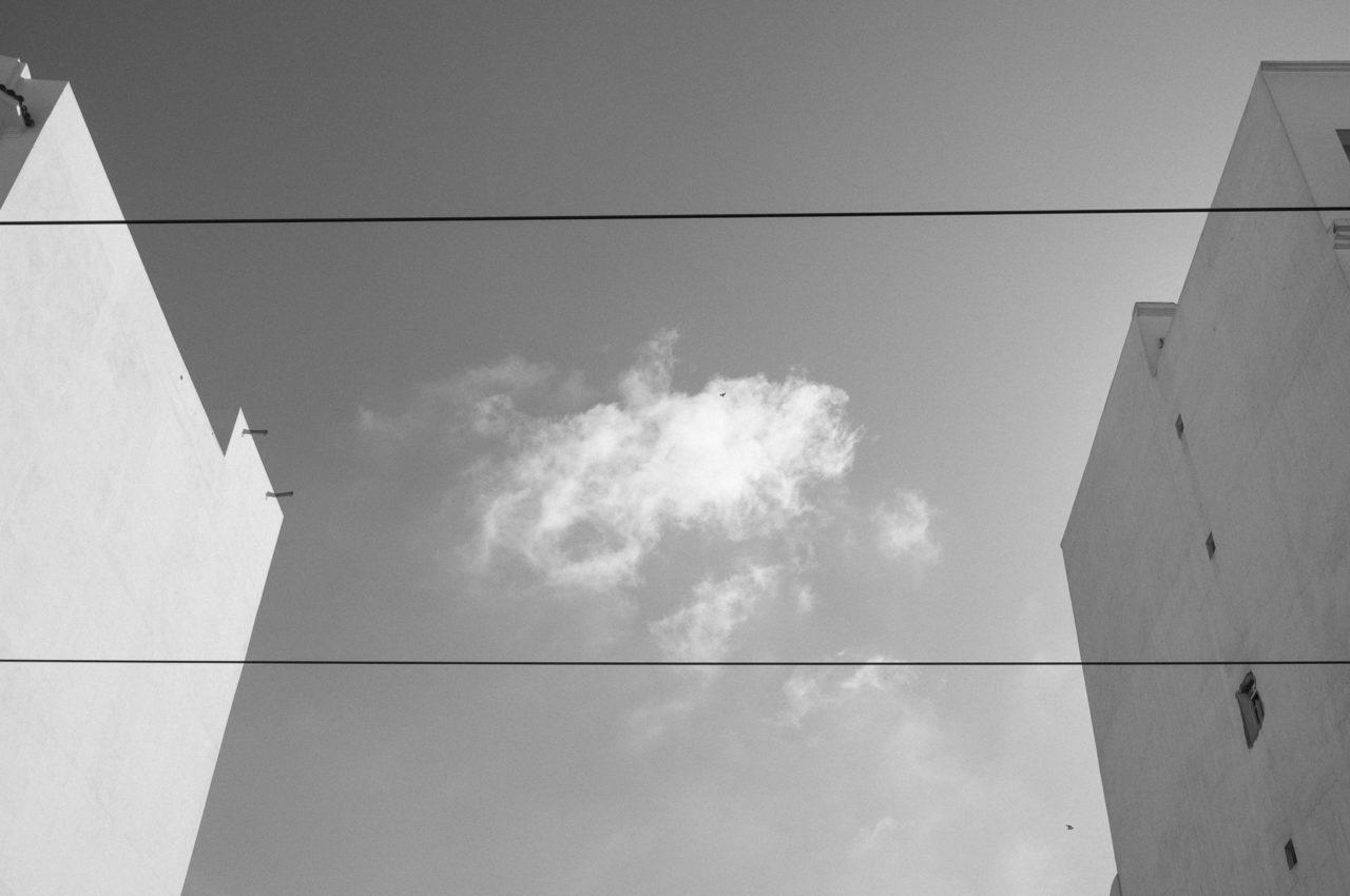 Un nuage en boîte -Casablanca, Casablanca-Settat, Maroc, Afrique.