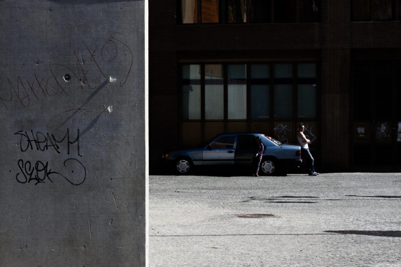 L'attente -Valence (Espagne), Communauté valencienne, Espagne, Europe.