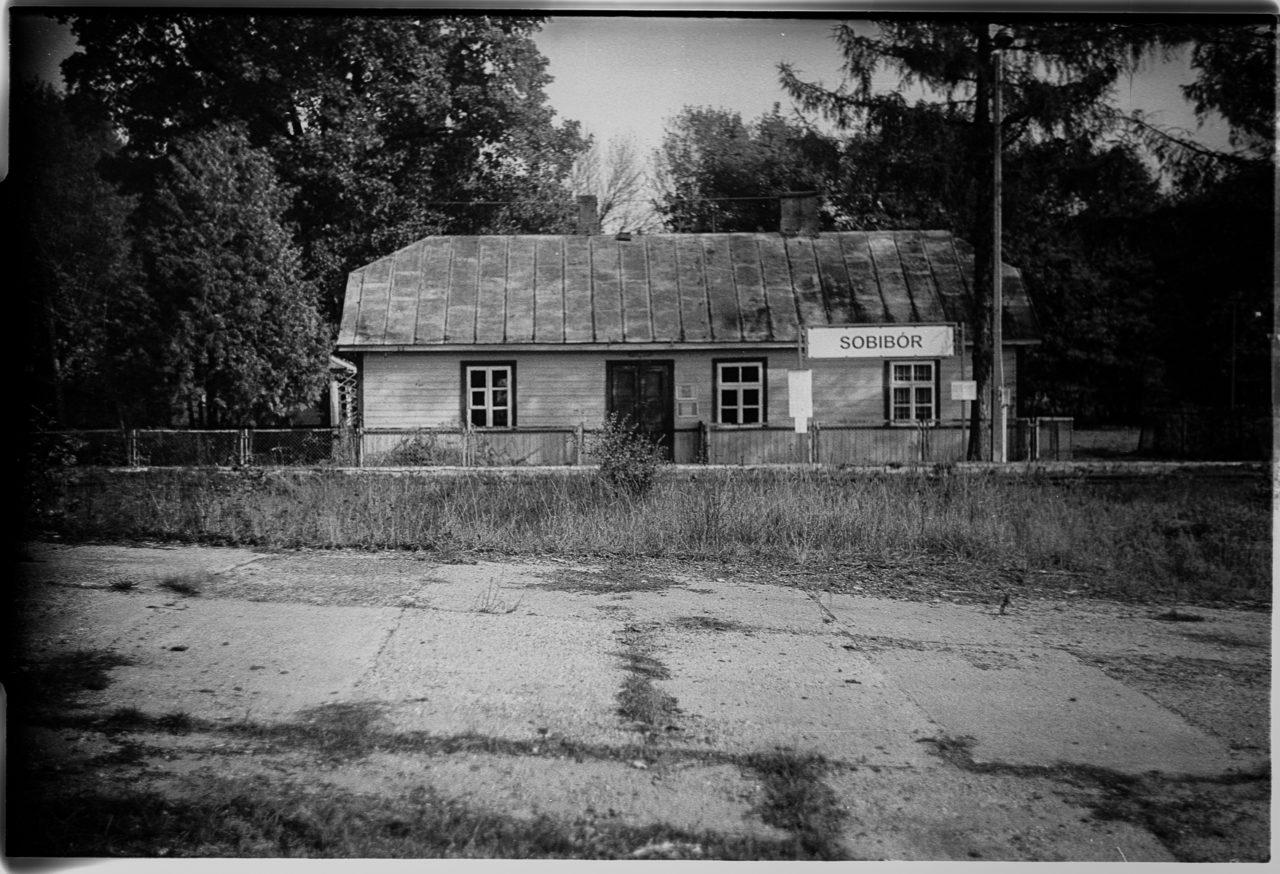 La gare de Sobibór -Sobibór, Lublin, Pologne, Europe.